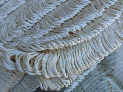 12Y SCALAMANDRE 100% SILK LOOP FRINGE TRIM CREAM PEARL WHITE FT669-1 MSRP$285/Y!