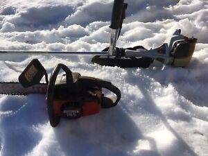 Mechanic special, Stihl weed eater, homelite chainsaw