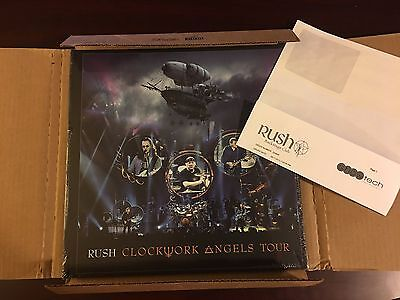 Rush Clockwork Angels Tour Limited Edition Deluxe Boxed Set #1587/5000 - MINT