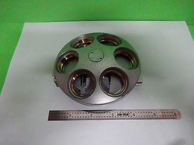 Microscope Part Polyvar Reichert Leica Nosepiece As Is Binw3-06
