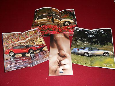 2001 FORD TAURUS, CROWN VICTORIA, WINDSTAR VAN, 62 -Page BROCHURE, SALES CATALOG