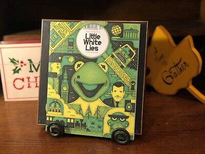 Little White Lies Magazine #52 Muppets Most Wanted,Electric Mayhem,Bret McKenzie