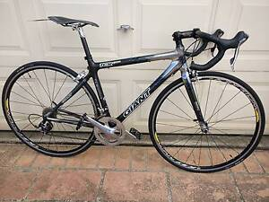 FULLY CARBON FIBER DURA-ACE GROUPSET GIANT TCR 20 SPEED UNDER 8KG Hinchinbrook Liverpool Area Preview