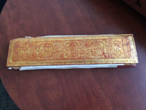 19th Century A Set of Complete Antique Burmese Manuscript KAMMAVACA