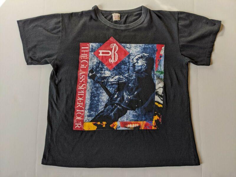 David Bowie T-shirt Mens XL The Glass Spider Tour 1987 Vintage Concert Shirt