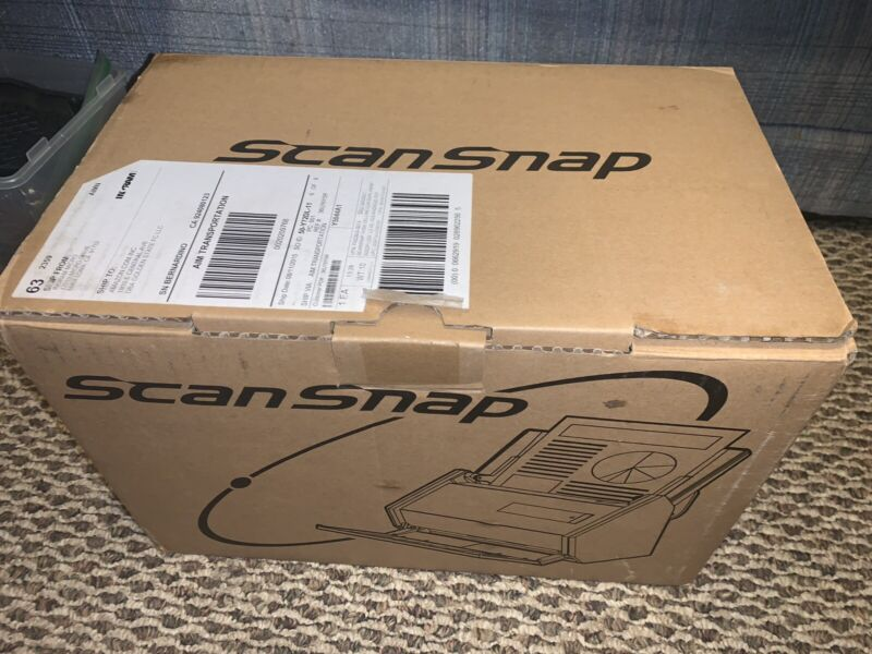Fujitsu ScanSnap iX500 Document Scanner In Box