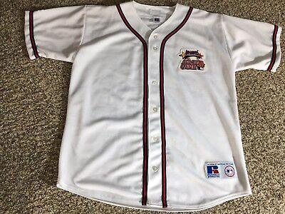 2000 ALL STAR GAME AT ATLANTA BRAVES OFFICIAL MLB BASEBALL JERSEY LARGE Game Official Mlb Baseball Jersey