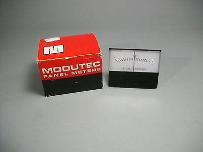 Modutec Analog Panel Meter -1.0-0-1.0 Dc Milliamperes