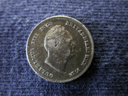 Great Britain 1836 4 pence groat in terrific condition