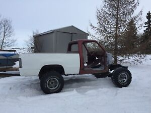1978 Dodge shortbox 4x4 project
