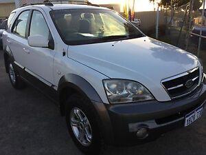 2004  KIA V6 SORENTO EX 4X4 WGN AUTO LOW KLMS Silver Sands Mandurah Area Preview