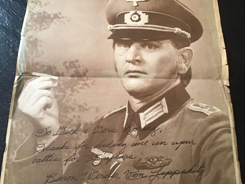 WWII Military German Soldier Print 11 X 14