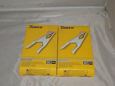 Tweco 500amp Steel Ground Clamp Pn Sgc-500 Stk 9205-1250 New In Box