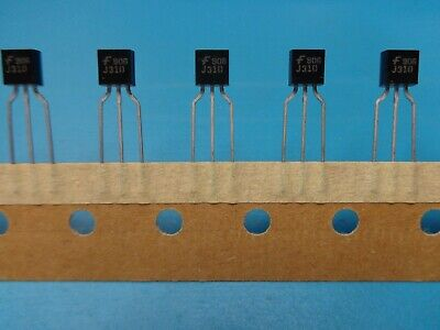5 Fairchild J310 Jfet N-channel 25v Transistor Vhf Uhf Rf Amp Formed To-92