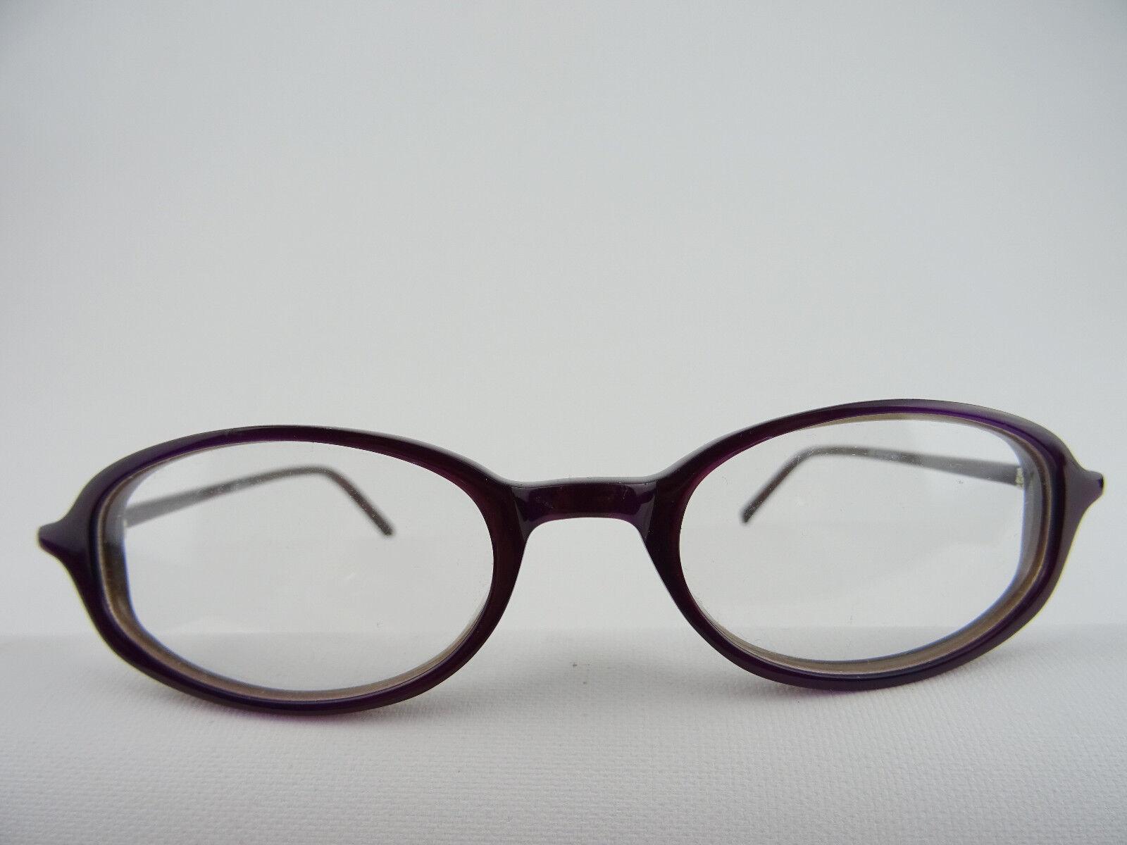 Brillengestell lilafarben mit kleiner Glasform günstiger Preis NEU Gr. S 46[]19