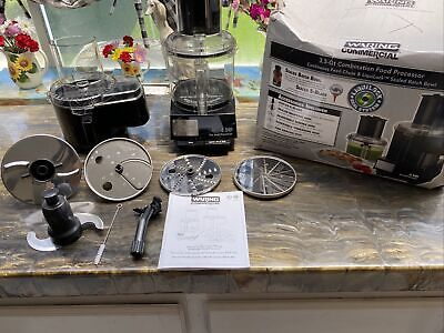 Waring Commercial Wfp14sc Food Processor 3.5 Qt. New Open Box Never Used