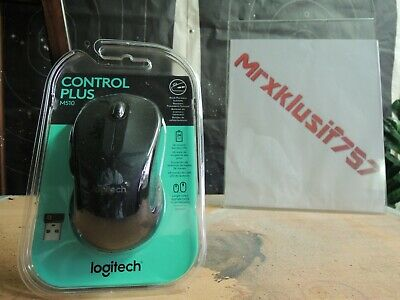 NEW Logitech Control Plus M510 Wireless Computer Mouse