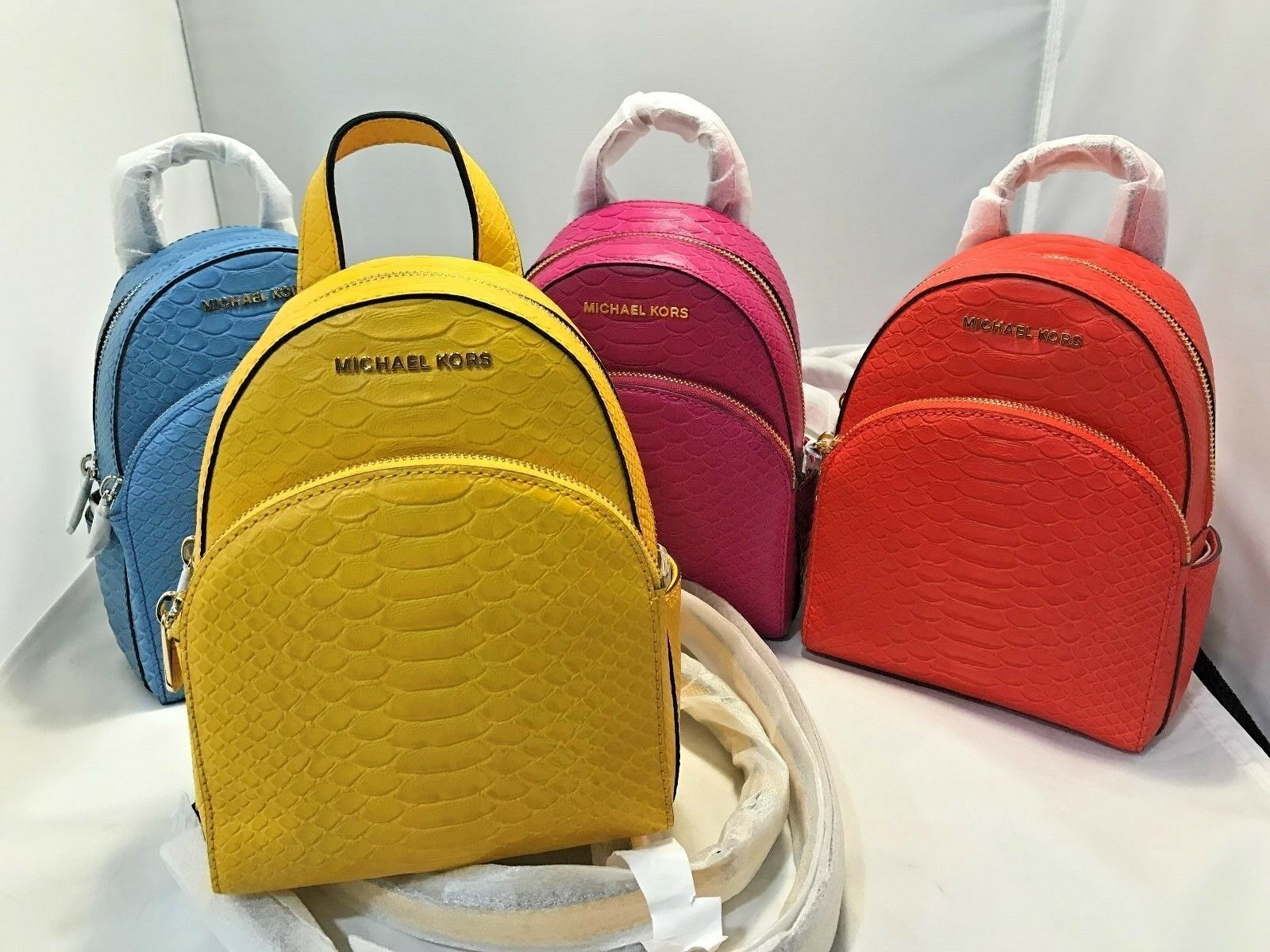 538276f7dad7 Michael Kors Abbey XS Backpack Messenger Crossbody Bags Embossed Leather  298 фото