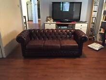 Burgundy Chesterfield Leather Sofa Paddington Brisbane North West Preview