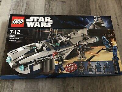 LEGO StarWars Cad Bane's Speeder (8128) Neu und OVP