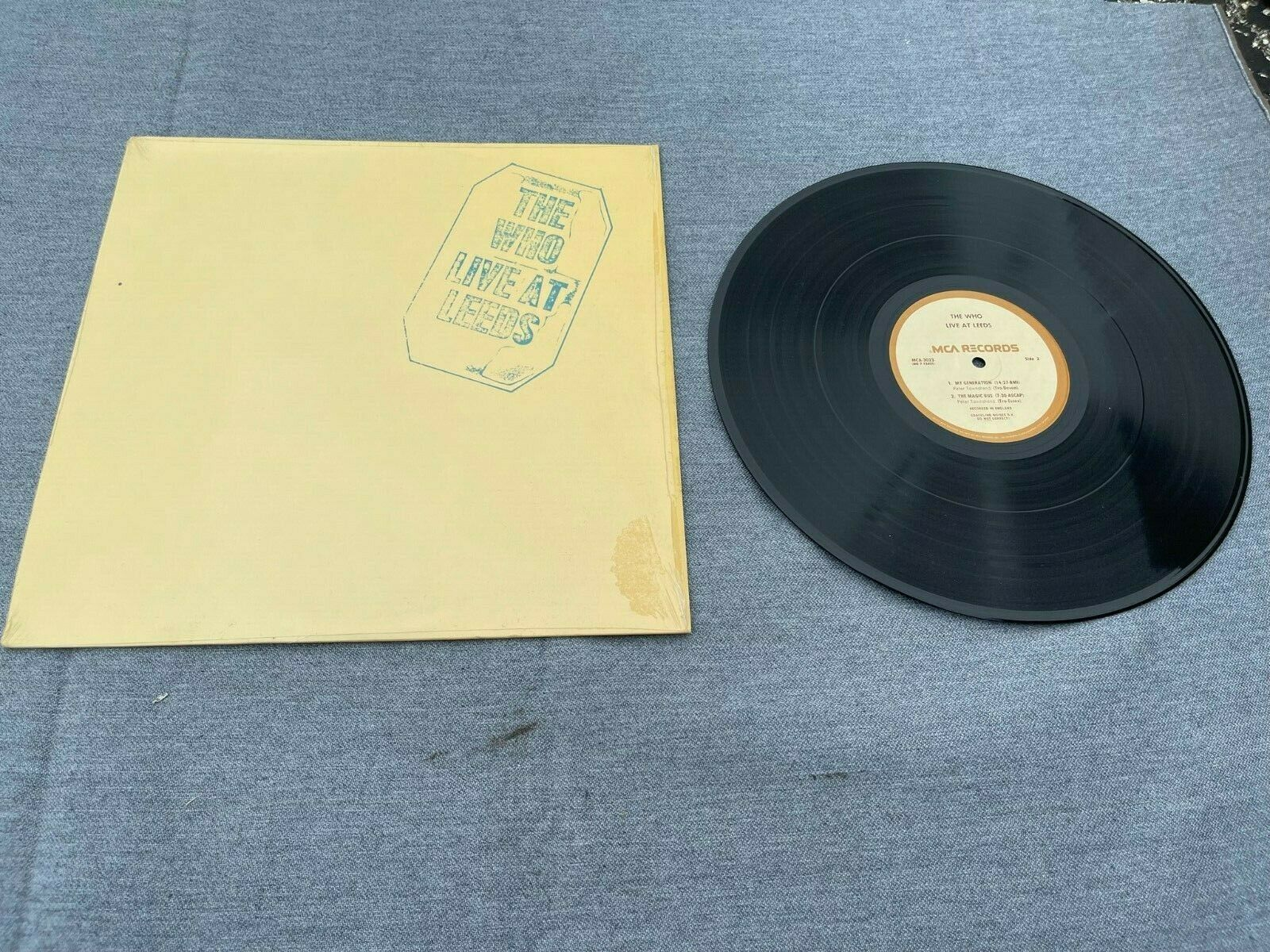 1970 THE WHO - Live At Leeds - Vinyl 12 Lp./ Pete Townsend EX/NM Orig Shrink - $29.99