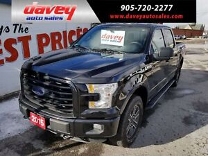 2015 Ford F-150 XLT 4X4, CREW CAB, TOW PACKAGE