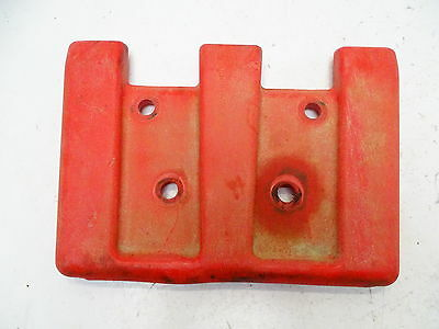 2005 Arctic Cat 400 4x4 Front Bumper Plastic Skid Plate Guard Red