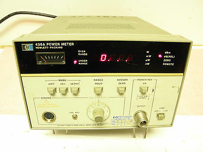 Hewlett Packard Hp 436a Power Meter 100khz - 50ghz Vintage Test Equipment