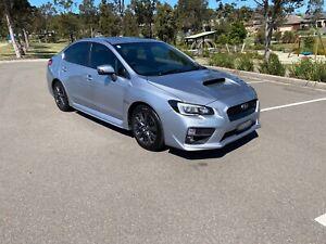2015 Subaru Wrx Premium (awd) Cvt Auto 8 Speed 4d Sedan