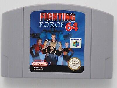 Fighting Force 64 for Nintendo 64 N64 PAL *100% GENUINE* CART ONLY Aust. Seller