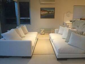 Camerich Lazy Time Plus Sofa Lounge White Linen Wollstonecraft North Sydney Area Preview