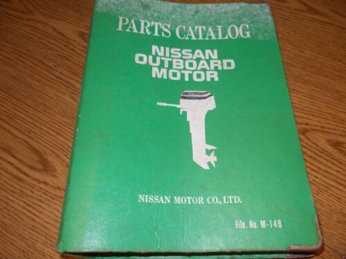 NISSAN OUTBOARD MOTOR PARTS CATALOG FILE M-148