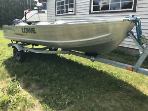 2007 Lowe 14ft Aluminum with 15hp 4stroke Yamaha outboard