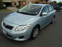 2007 Toyota Corolla Sedan, 10 MONTHS REG, RWC, LOW KMS Roxburgh Park Hume Area Preview