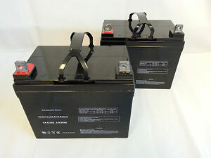 two new batteries for a jet 3 ultra power chair scooter u1. Black Bedroom Furniture Sets. Home Design Ideas