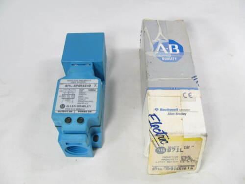 Allen Bradley, Inductive Proximity Sensor, 871L-XPB15S40, SER A, New in Box, NIB
