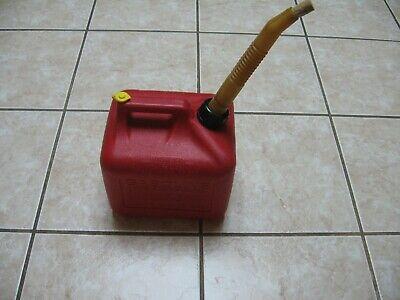 Preban Midwest 2 Gal. 8oz. Gas Can Vented For Fast Pour Spoutcork Stopper