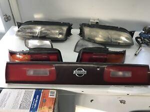 Nissan Silvia S14 Headlights & Taillights