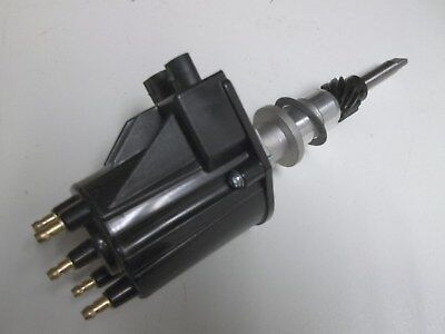 Replace Points 8-Cyl Mallory Marine Distributor: Electronic Ignition on