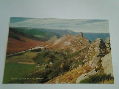 Vintage postcard THE VALLEY OF ROCKS, LYNTON, DEVON