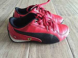 Puma Kids Boys Shoe Ferrari Red US11.5 Templestowe Lower Manningham Area Preview