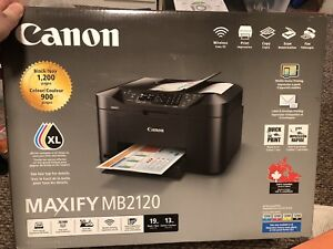 Canon Maxify MB2120 All in One Inkjet Printer-BRAND NEW!