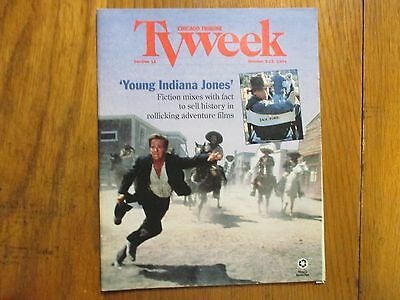Oct  9  1994 Chicago Tribune Tv Week  Young  Indiana Jones Sean Patrick Flanery
