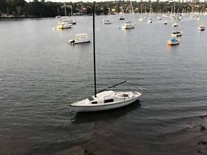 Yacht 24 foot; Mooring Minder