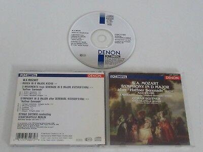 W. a.Mozart / Symphony after Haffner Serenade Kv250 Etc / Suiter (Denon