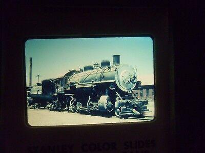 Com Slide Train Rr California Bakersfield Sp 2827 Loco Station Depot Yard Steam