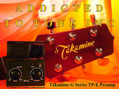 Takamine TP-E / TPE EASY  G Series Acoustic Guitar preamp  L