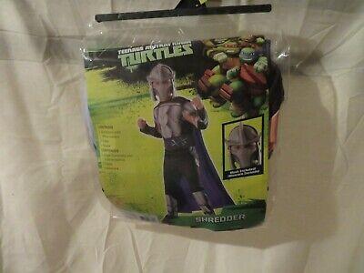 Shredder Ninja Turtles Halloween Costume (NWT Boys Teenage Mutant Ninja Turtles Shredder Halloween Costume, Size)