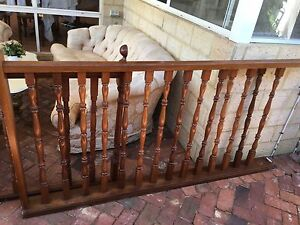 Wood balustrade Mount Claremont Nedlands Area Preview