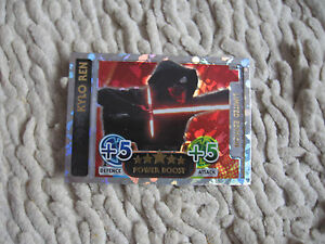 Topps Force Attax Star Wars The Force Awakens Limited Edition KYLO REN LERA - <span itemprop=availableAtOrFrom>Kraków, Polska</span> - Topps Force Attax Star Wars The Force Awakens Limited Edition KYLO REN LERA - Kraków, Polska